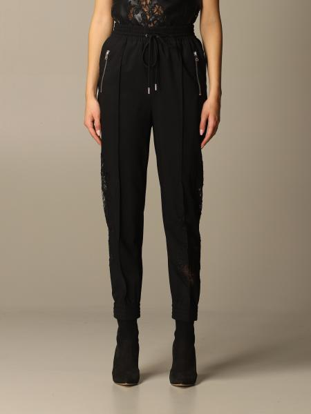 Pants ermanno scervino trousers in viscose blend with lace inserts Ermanno Scervino - Giglio.com