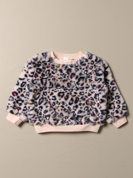 Billieblush sweater with animalier pattern