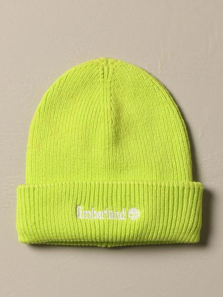 Timberland cotton hat with logo
