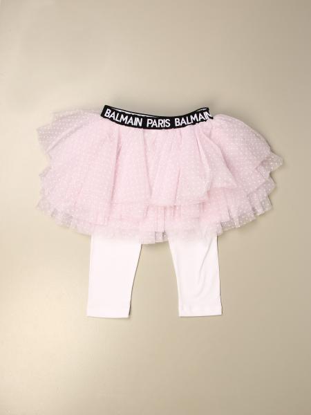 Balmain: Balmain layered tutu skirt with tights underneath