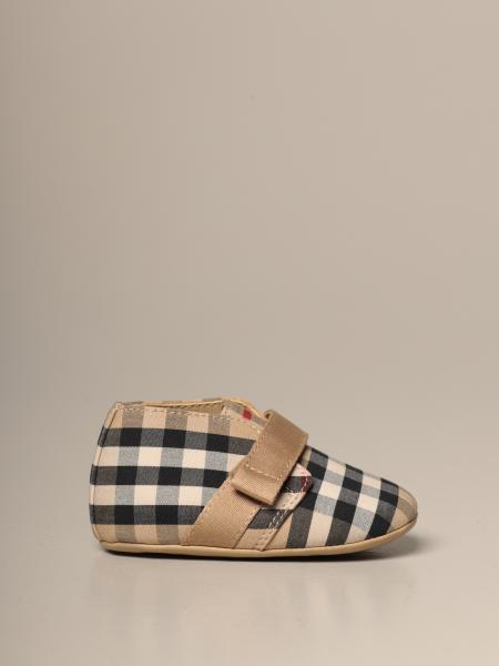 Burberry shoe in cotton with vintage check pattern