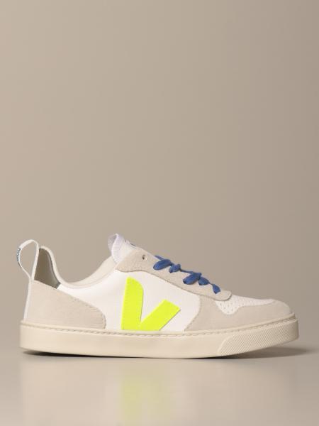 Sneakers Veja in pelle e camoscio