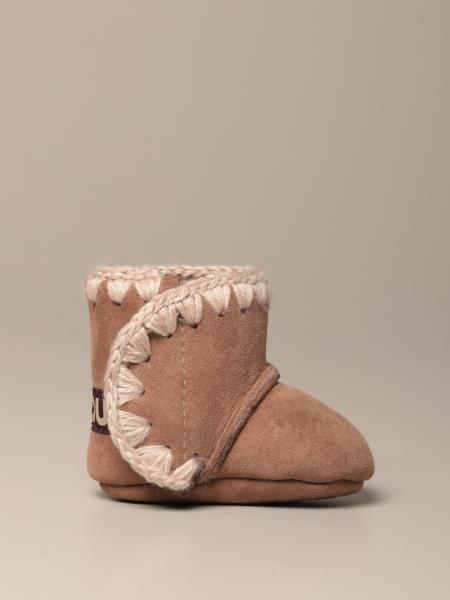 Eskimo Infant Mou boot in suede sheepskin