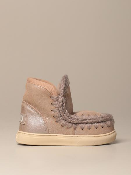 Eskimo ankle boot Mou sneakers with suede effect