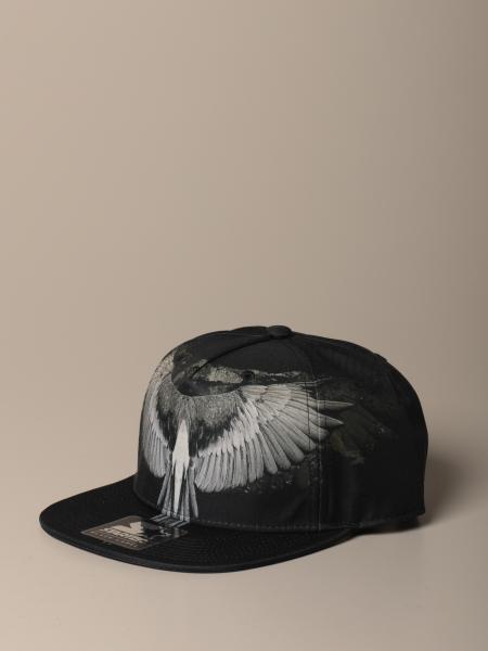 Cappello da baseball Marcelo Burlon con stampa ali