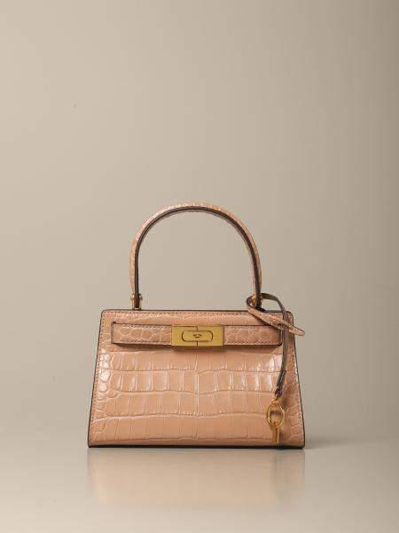 Borsa a mano Tory Burch in pelle stampa cocco