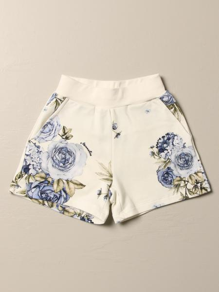 Monnalisa shorts with floral pattern