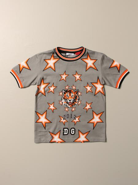 Dolce & Gabbana t-shirt with tiger and stars