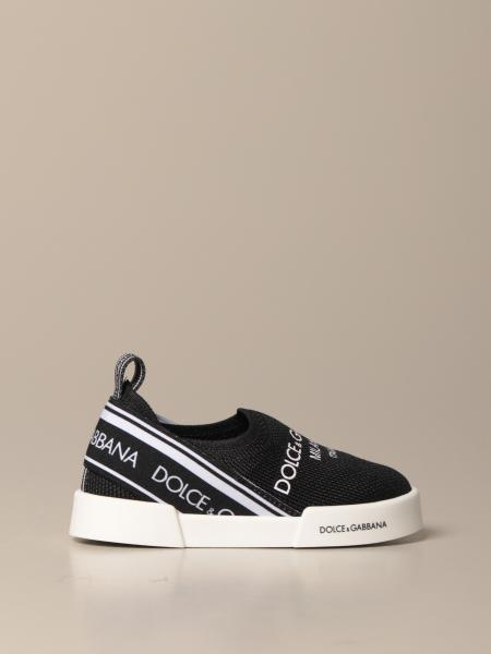 Dolce & Gabbana slip on sneakers with logo