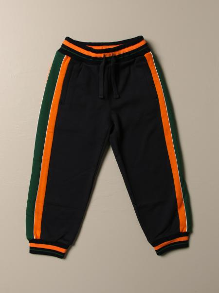 Dolce & Gabbana kids: Dolce & Gabbana jogging trousers with logo and stripes