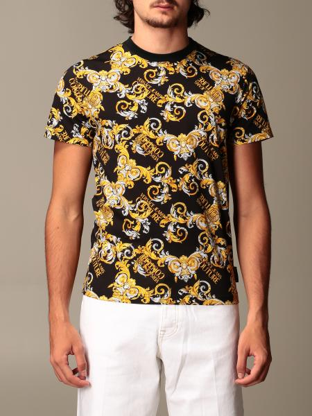 T-shirt Versace Jeans Couture a fantasia barocca