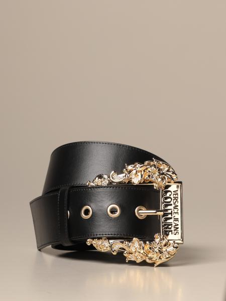 Cintura Versace Jeans Couture in pelle