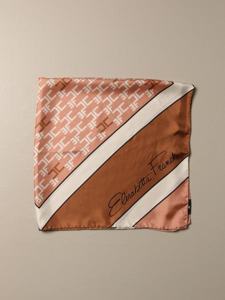 Elisabetta Franchi patterned silk scarf