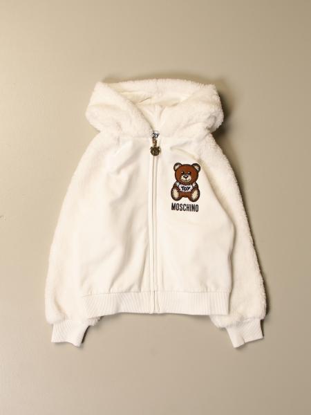 Moschino kids: Moschino Kid sweatshirt with Teddy hood