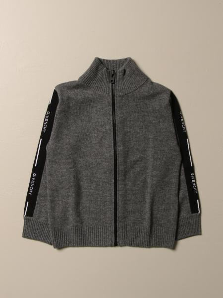 Givenchy: Givenchy cardigan in wool and cashmere with zip