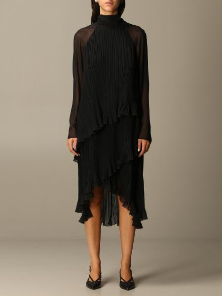 Nada Max Mara dress in pleated chiffon