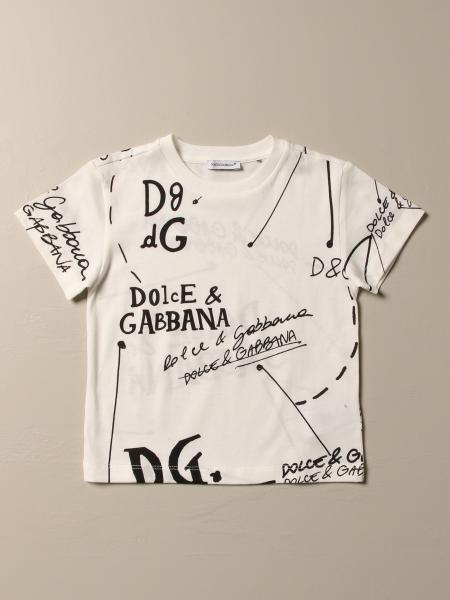 Dolce & Gabbana T-shirt with lettering logo