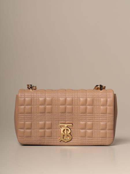 Lola Burberry shoulder bag in quilted leather with TB monogram