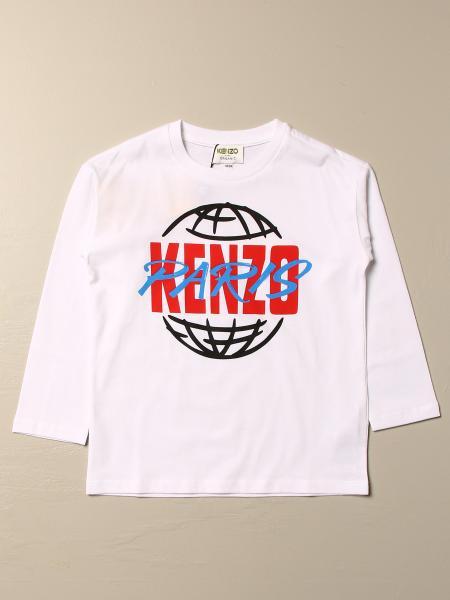 T-shirt Kenzo Junior in cotone con logo