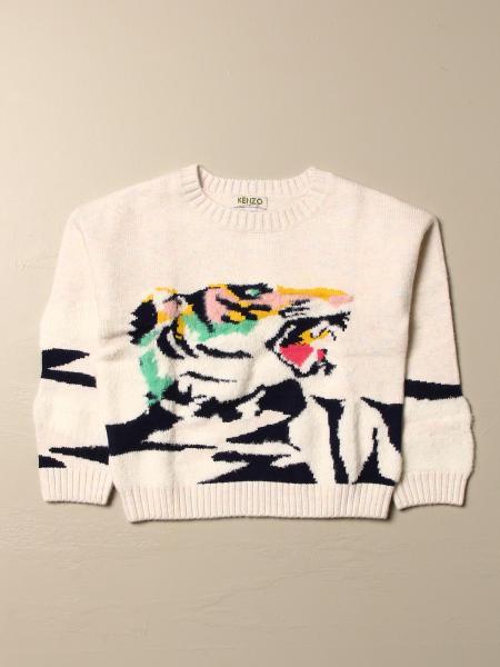 Maglia Kenzo Junior con logo tigre