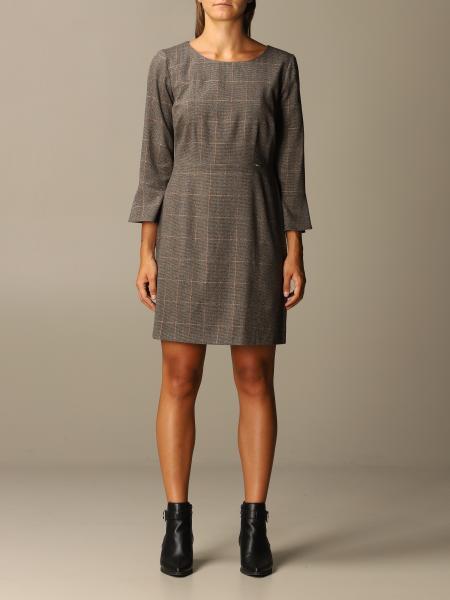 Liu Jo: Short Liu Jo checked dress