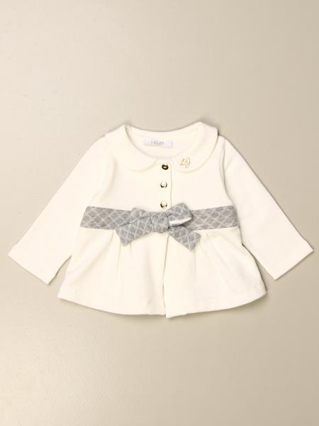 Liu Jo kids: Liu Jo cotton polo shirt with contrasting bow