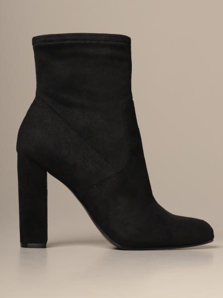 Steve Madden ankle boot in suede fabric