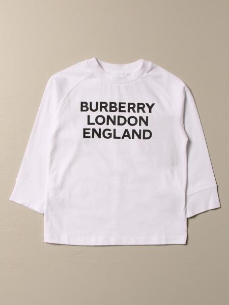 Burberry: Burberry cotton t-shirt with logo