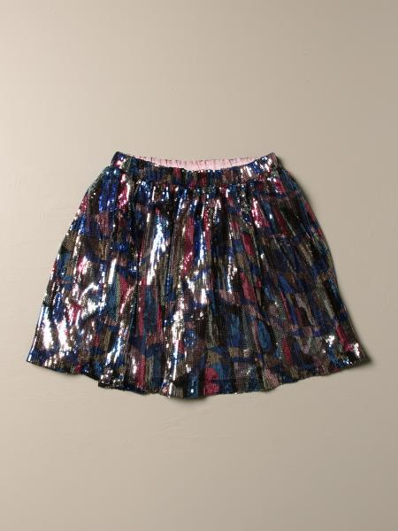 Emilio Pucci skirt in multicolor patterned sequins