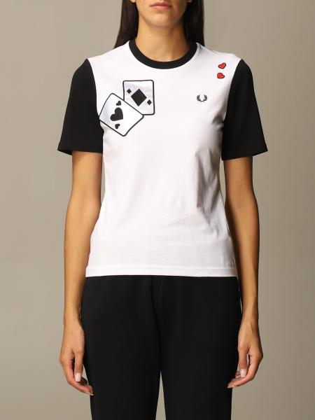 Camiseta mujer Fred Perry