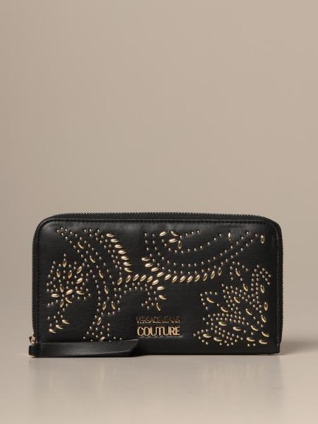 Versace Jeans Couture synthetic nappa wallet