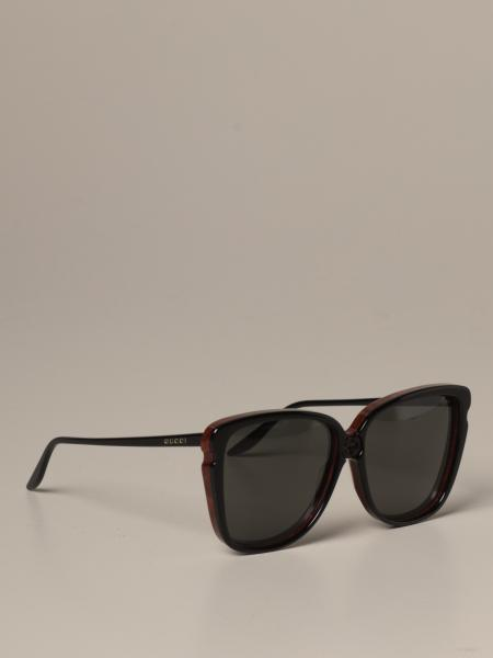 Gucci sunglasses in acetate and metal