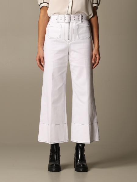 Miu Miu: Miu Miu trousers with belt