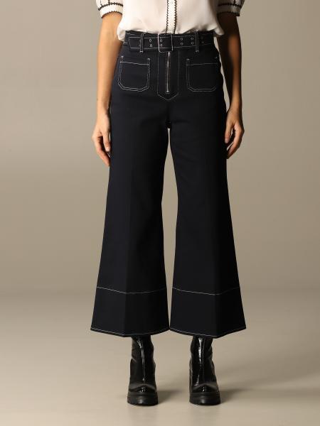 Miu Miu trousers with belt
