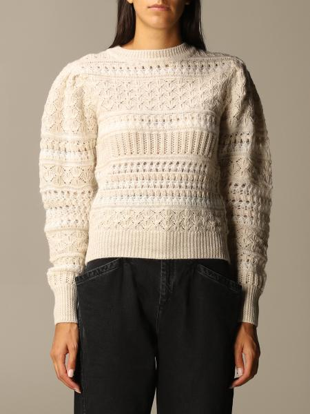 Isabel Marant: Isabel Marant sweater in perforated wool and mohair