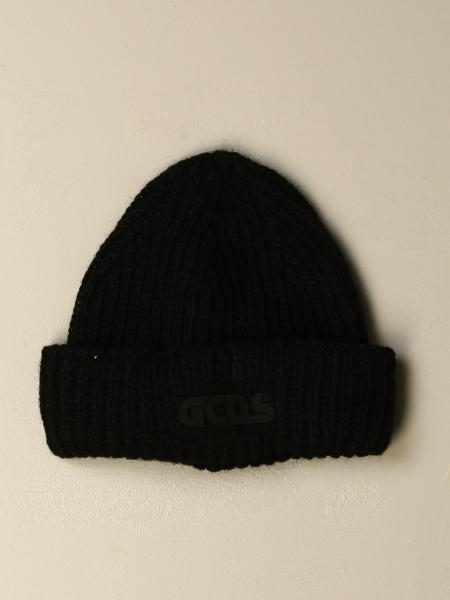 GCDS hat in wool and Alpaca blend with logo
