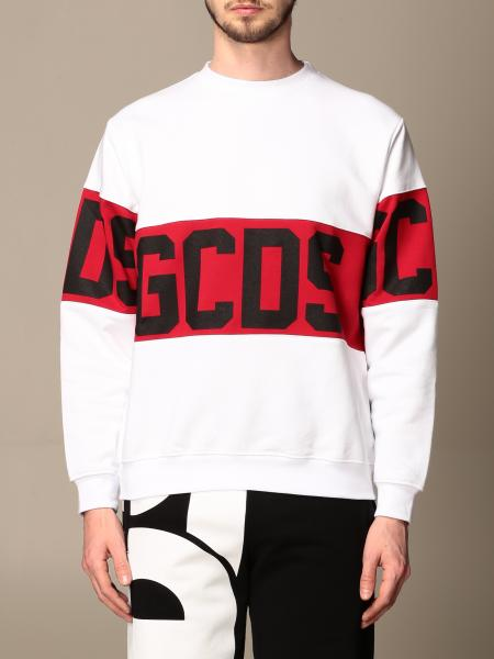 Gcds men: GCDS cotton sweatshirt with logo