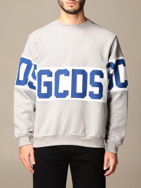 GCDS cotton sweatshirt with logo