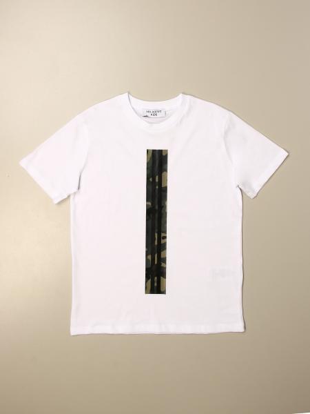 Neil Barrett: Neil Barrett t-shirt with striped band