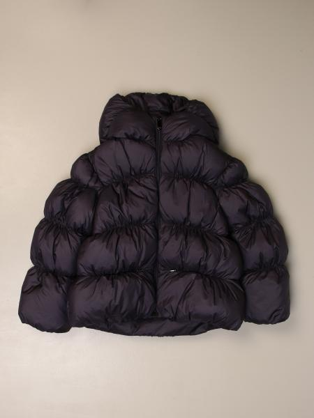 Il Gufo nylon down jacket with hood