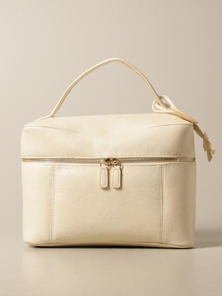 Le Bebé satchel in textured synthetic leather