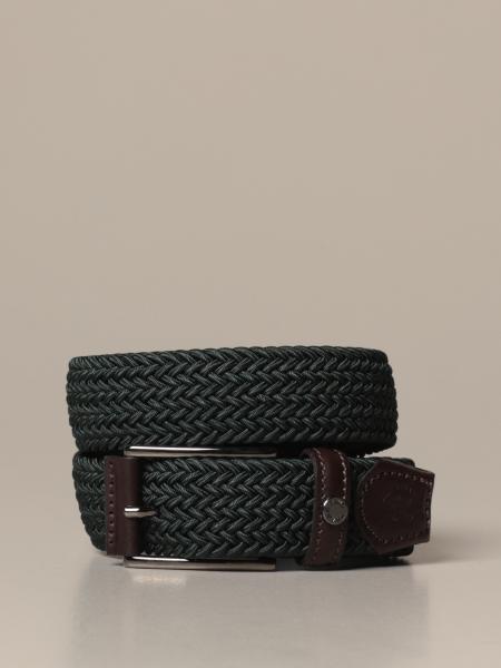 Paul & Shark woven elastic belt
