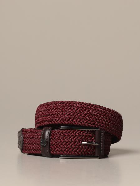 Cintura elastica Paul & Shark intrecciata