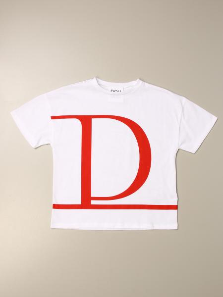 Douuod cotton T-shirt with logo print