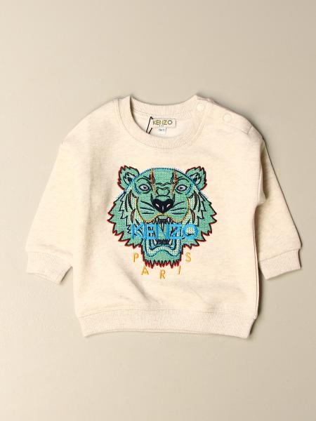 Kenzo kids: Kenzo Junior cotton sweatshirt with Tiger Kenzo Paris logo