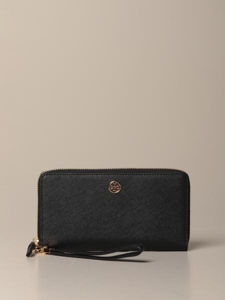 Tory Burch wallet in saffiano leather