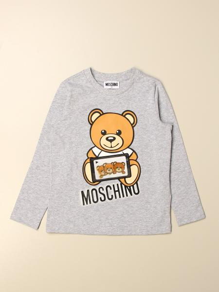 Moschino kids: Moschino Kid cotton sweater with Teddy