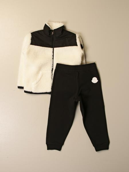 Completo felpa + pantalone Moncler con logo