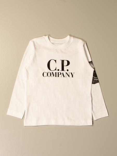 C.p. Company: C.p. Jersey Company in cotton with logo