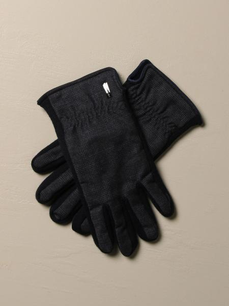Paul & Shark gloves in suede and wool